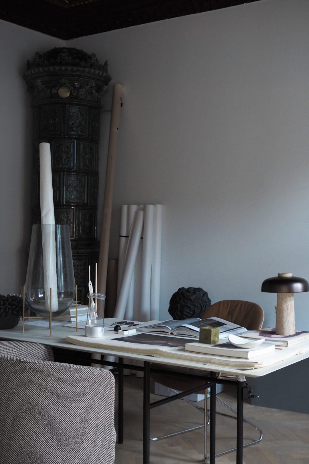 A sculptor's studio in Stockholm