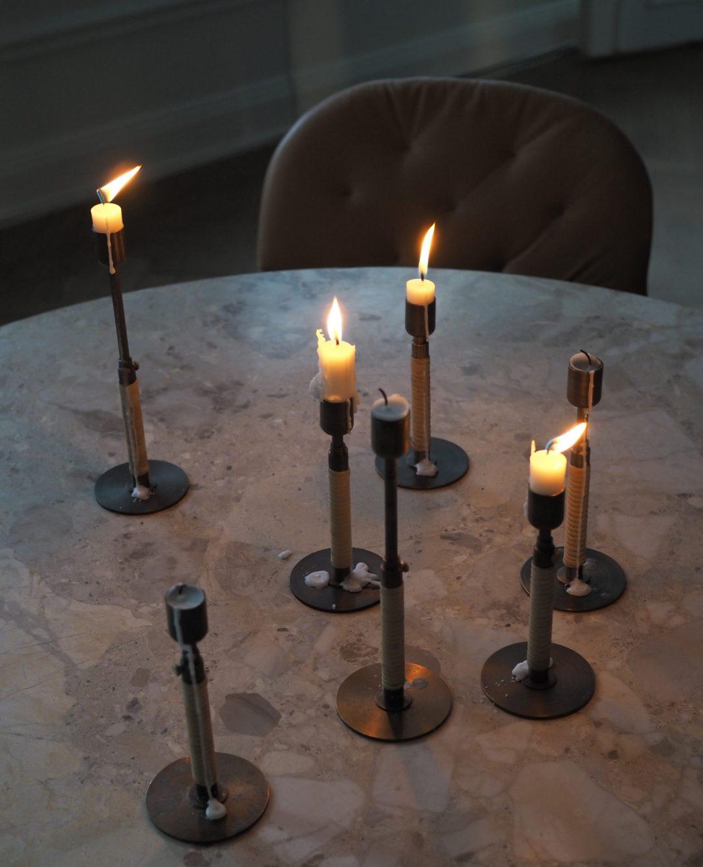 Menu candles