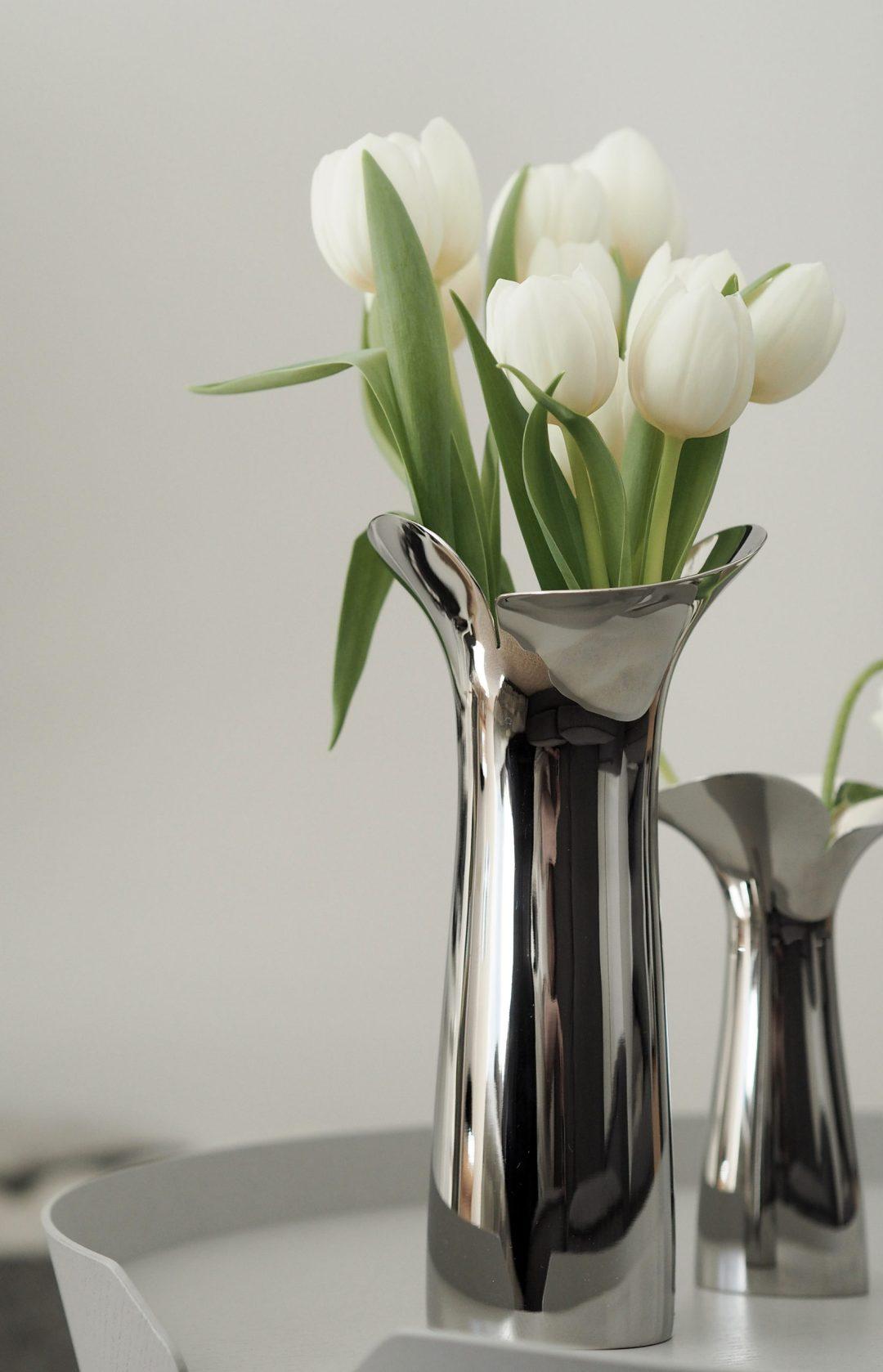 Spring time vase - Scandinavian design Bloom by Georg Jensen