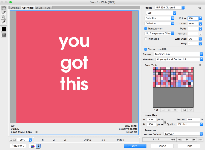 How to Make a Flashing Text GIF in Photoshop