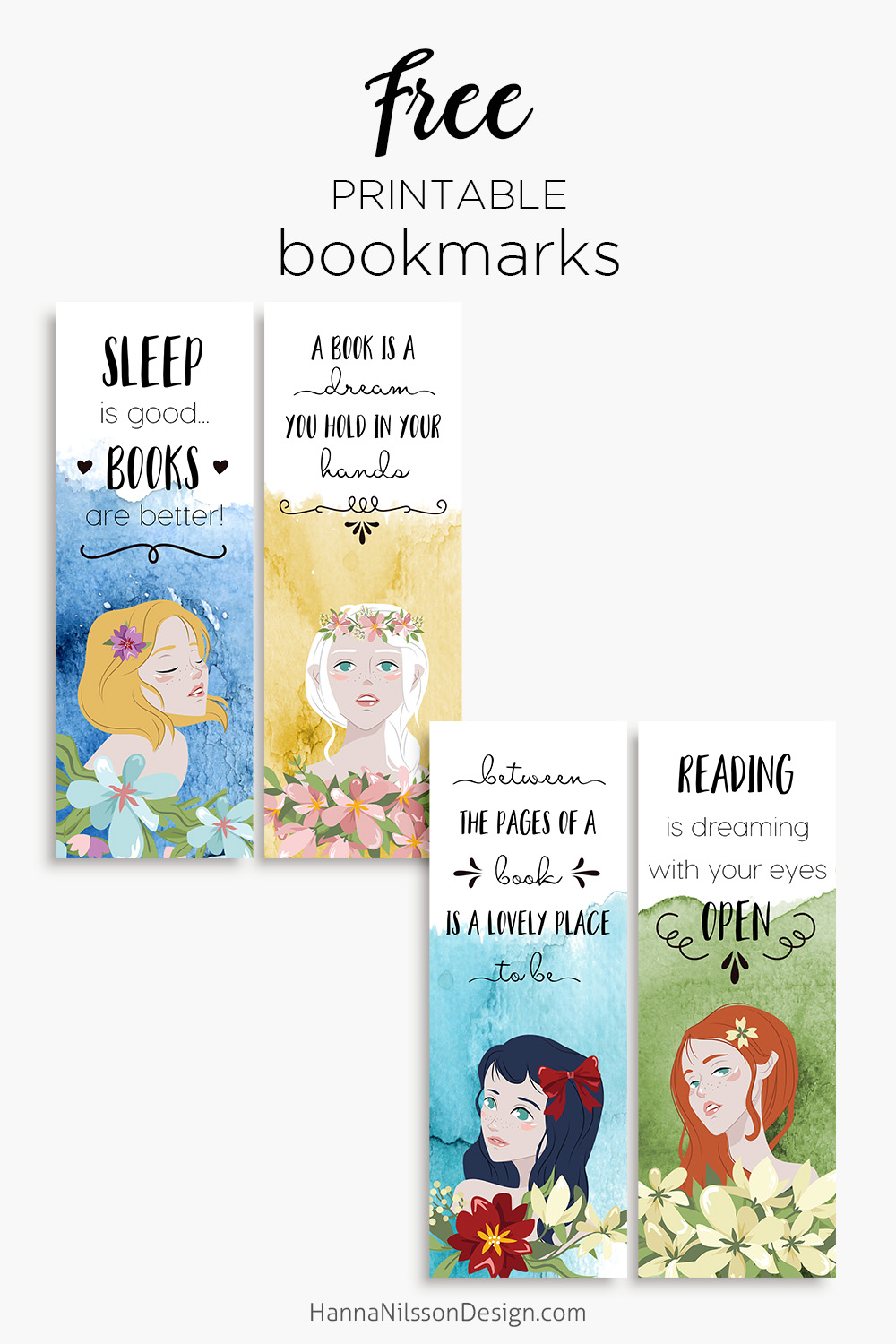 picture about Printable Bookmarks With Quotes named Bookmarks Hanna Nilsson Structure