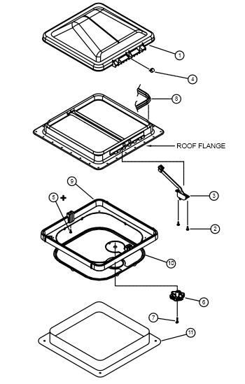 Diagram Utility Trailer Parts