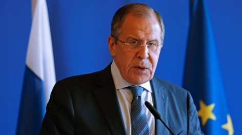 Lavrov Russian Foreign Minster debates Christianity and traditional values
