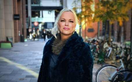 Hanne Herland at TV2, Norway, discussing Jordan Peterson.