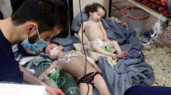 Chlorine attack syria douma herland report