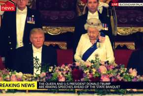 Trump's UK visit was a massive success, yet media is bent on war with its own President
