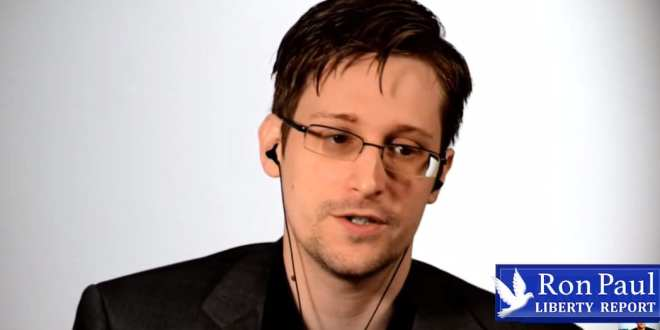 Edward Snowden: We're in the midst of the greatest redistribution of power since the Industrial Revolution, technology provides new capabilities, Herland Report
