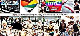 Gay Pride: Hemningsløs seksualisert hedonisme, umoral og forfall promoteres til alle homofile som ønsket livsform, Trond Ali Linstad, Herland Report