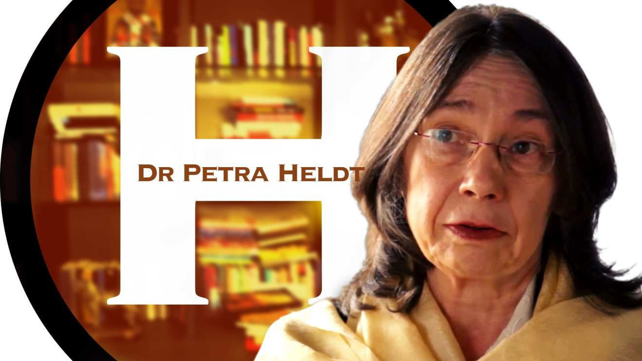 Dr. Petra Heldt, Hebrew University. Photo Herland Report.