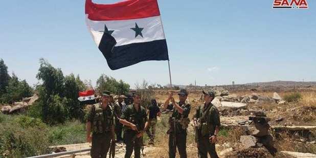 Syrian Arab Army Sana Herland Report