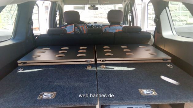 Hannes kleiner Camper mit Campladeboden - hannes-webseite.de - meine Outdoor Hobbys