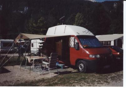 Hannes Campingbus Fiat Ducato, hannes-webseite.de