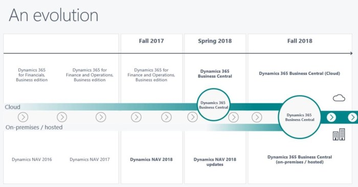 Dynamics 365-Dynamics NAV roadmap