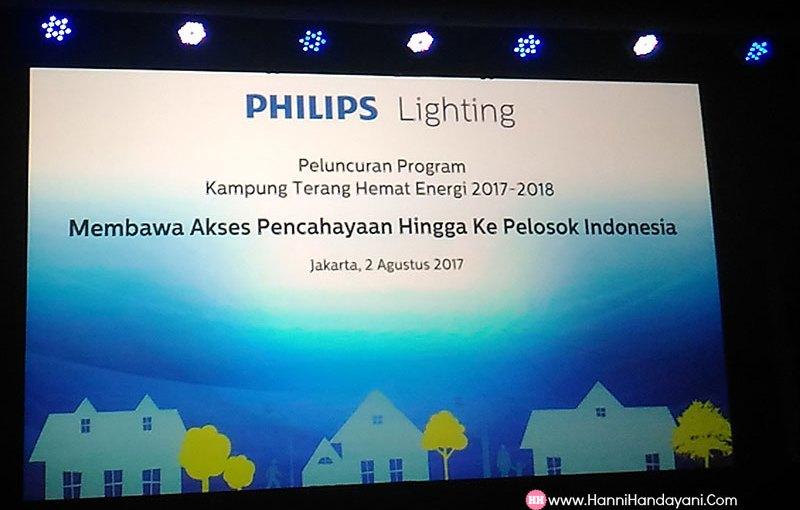 peluncuran kampung terang hemat energi