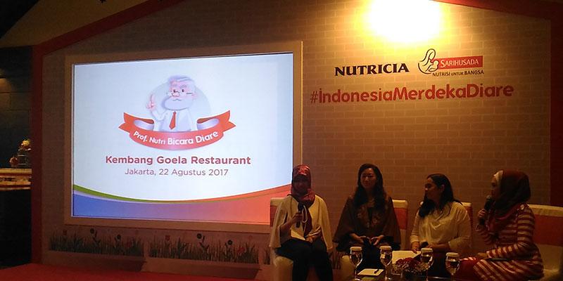talkshow nutricia sarihusada indonesia merdeka-diare