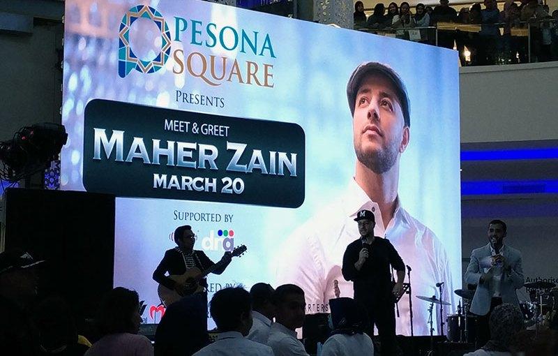 Asyiknya Belanja Di Pesona Square Depok Bisa Ketemu Maher Zain