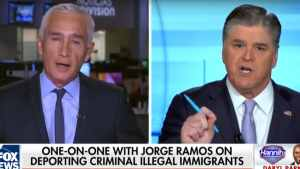 FIREWORKS: Hannity Goes HEAD TO HEAD with Univision's Jorge Ramos on IMMIGRATION