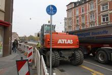 Baustelle Benno Ohnesorg Brücke