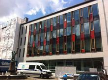 Baustelle Lindener Rathaus