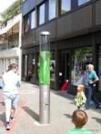 Wasserwirbel in der Grupenstraße