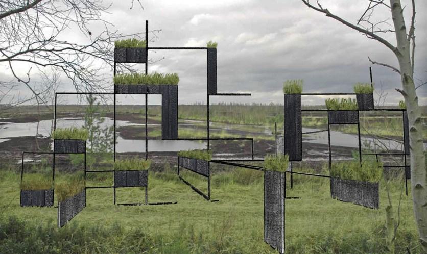 Matrix des Ortes - Würfel