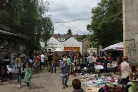 Alternativer Stadtteilflohmarkt Linden-Nord