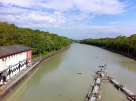 Mittellandkanal in Anderten