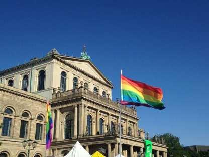CSD auf dem Opernplatz