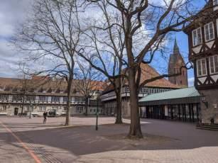 Ballhof und Marktkirche