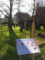 Denkmal Gartenfriedhof