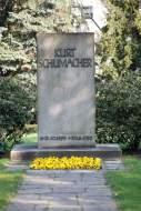 Grabstein Kurt Schumacher