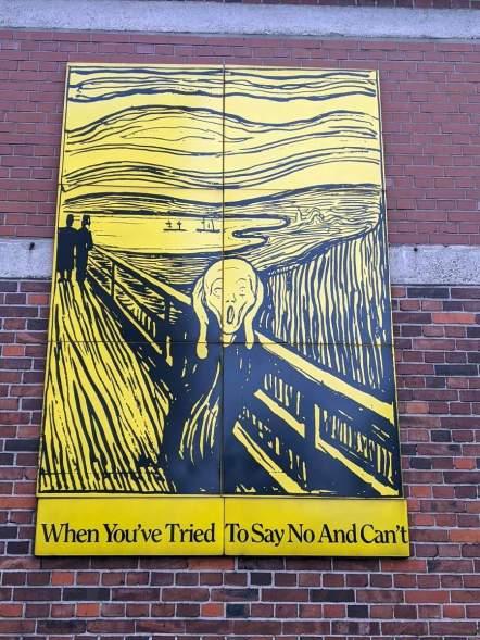 Rob Scholte: Schrei nach Edvard Munch
