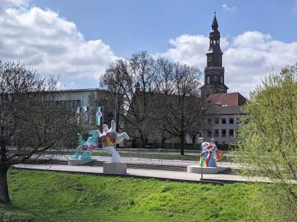 Blick zur Calenberger Neustadt