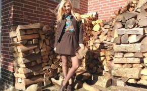 Escada suit & Blumarine blouse