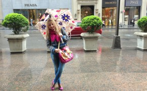 Braccialini bag & Marc by Marc Jacobs scarf