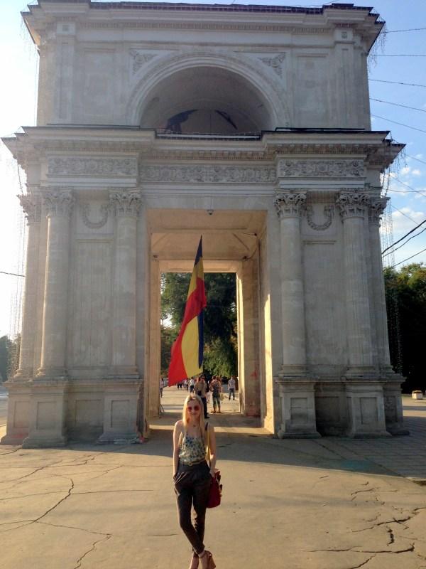 Arc de Triomphe, Chişinău