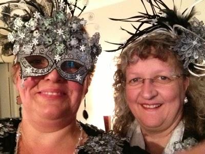 Mum and Kathy