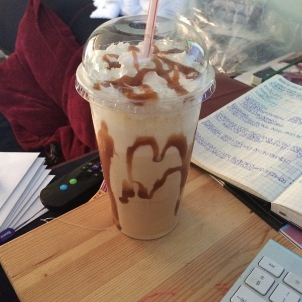 Caramel Frappe from The Fountain