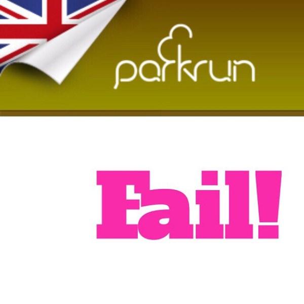ParkRun Fail