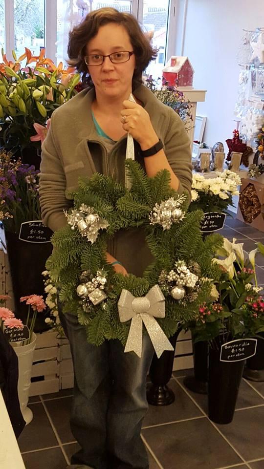 My Wreath and I