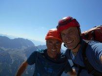 Gipfel Wetterspitze 2747m