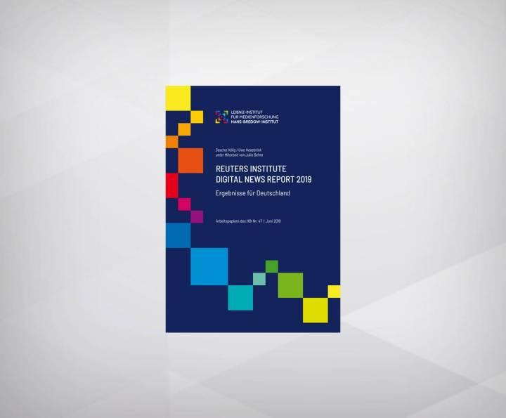 reuters institute digital news report 2019: ergebnisse für