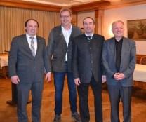 Andreas Fath, Thomas Zöller, Hubert Aiwanger, Hans Jürgen Fahn