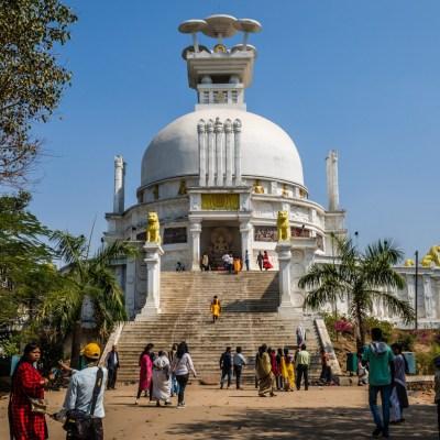 Dhauli Shanti Stupa, Bhubaneswar, Odisha