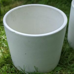 photo: white pot that look like a crock