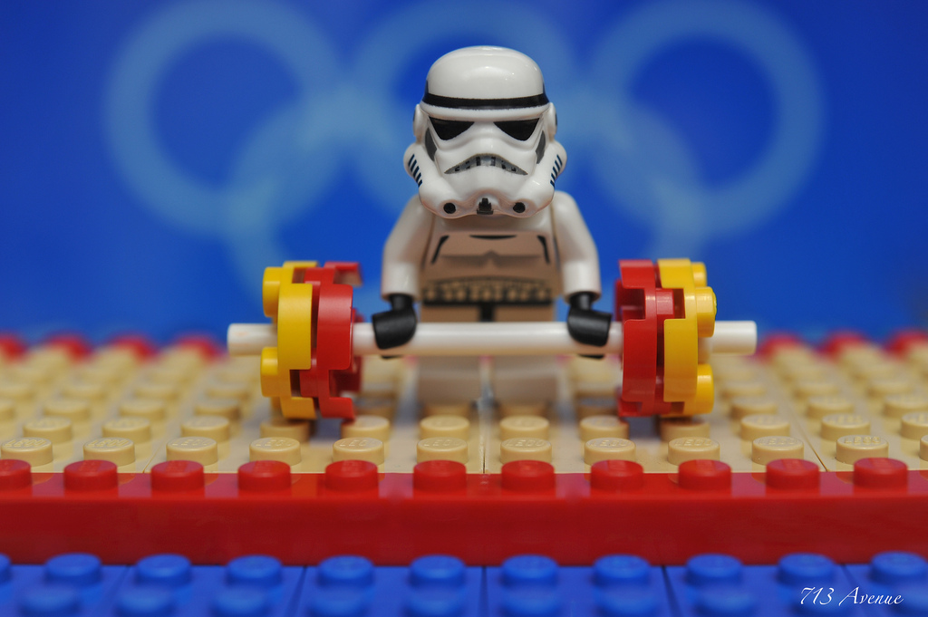Image result for star wars lifting weights