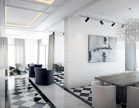black and white floor tiles wholesale