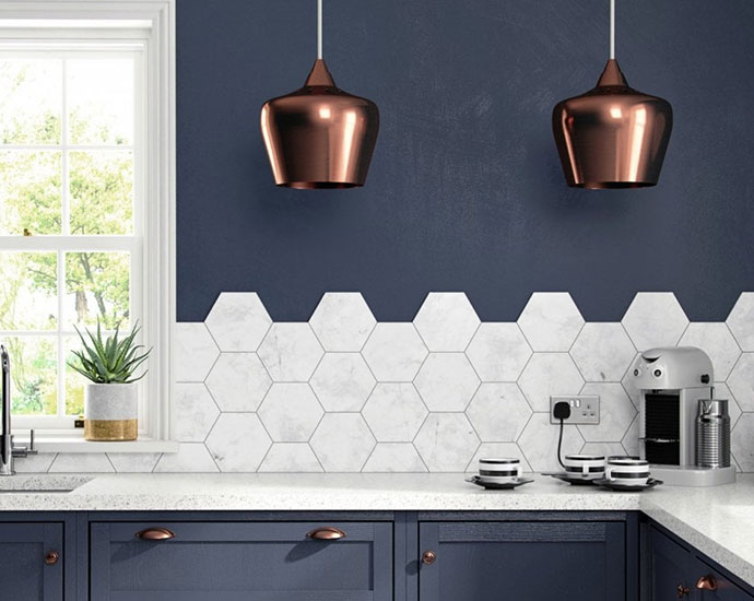 hexagon kitchen tile best tile for