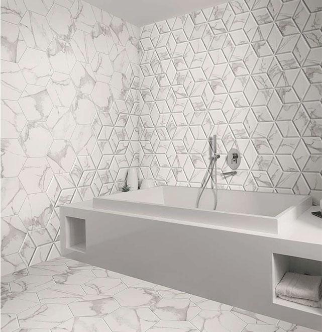 best quality hexagon wall tiles