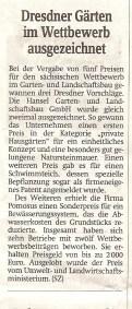 Presse Preis des sächs.GalaBaus